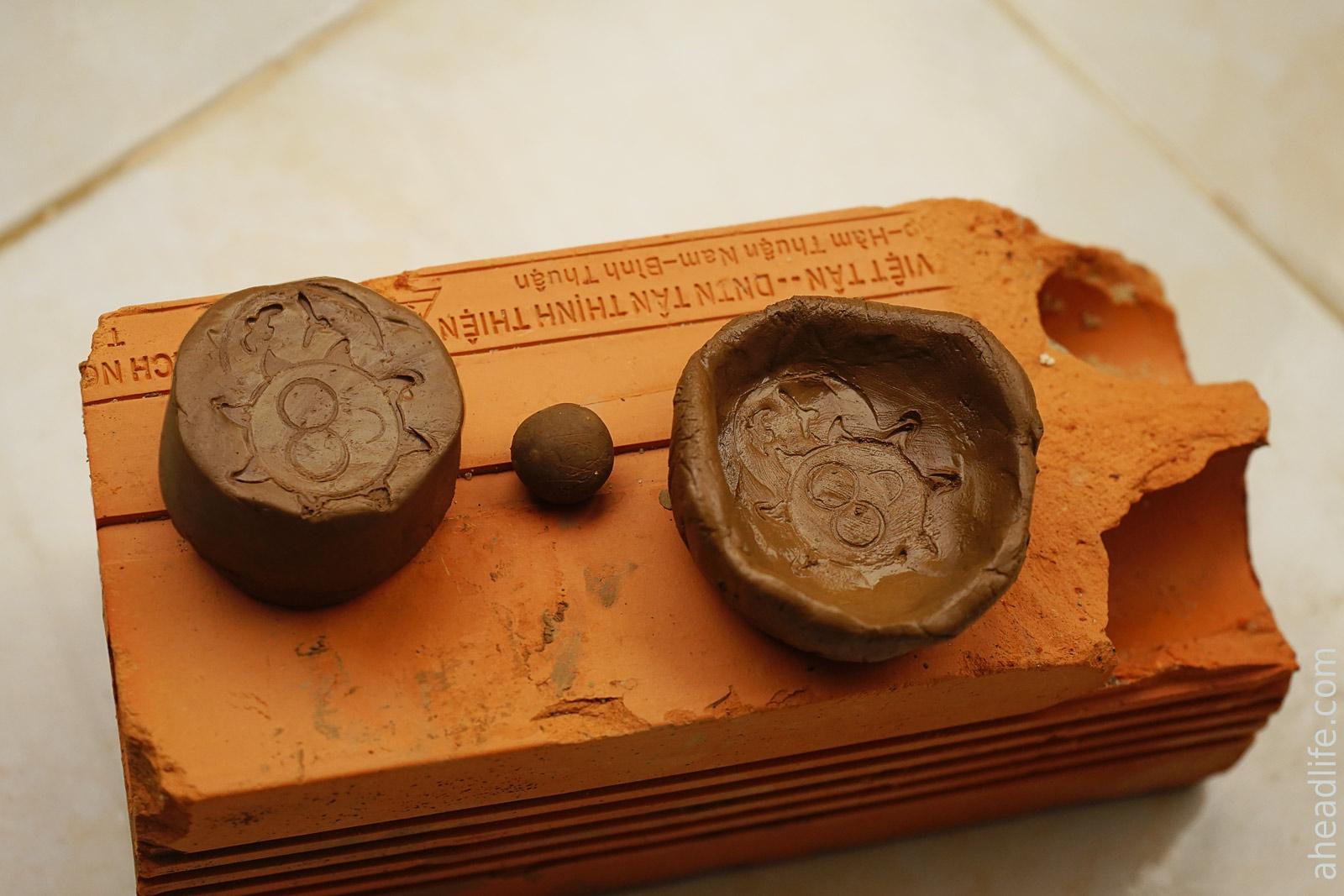 Мисочки из глины