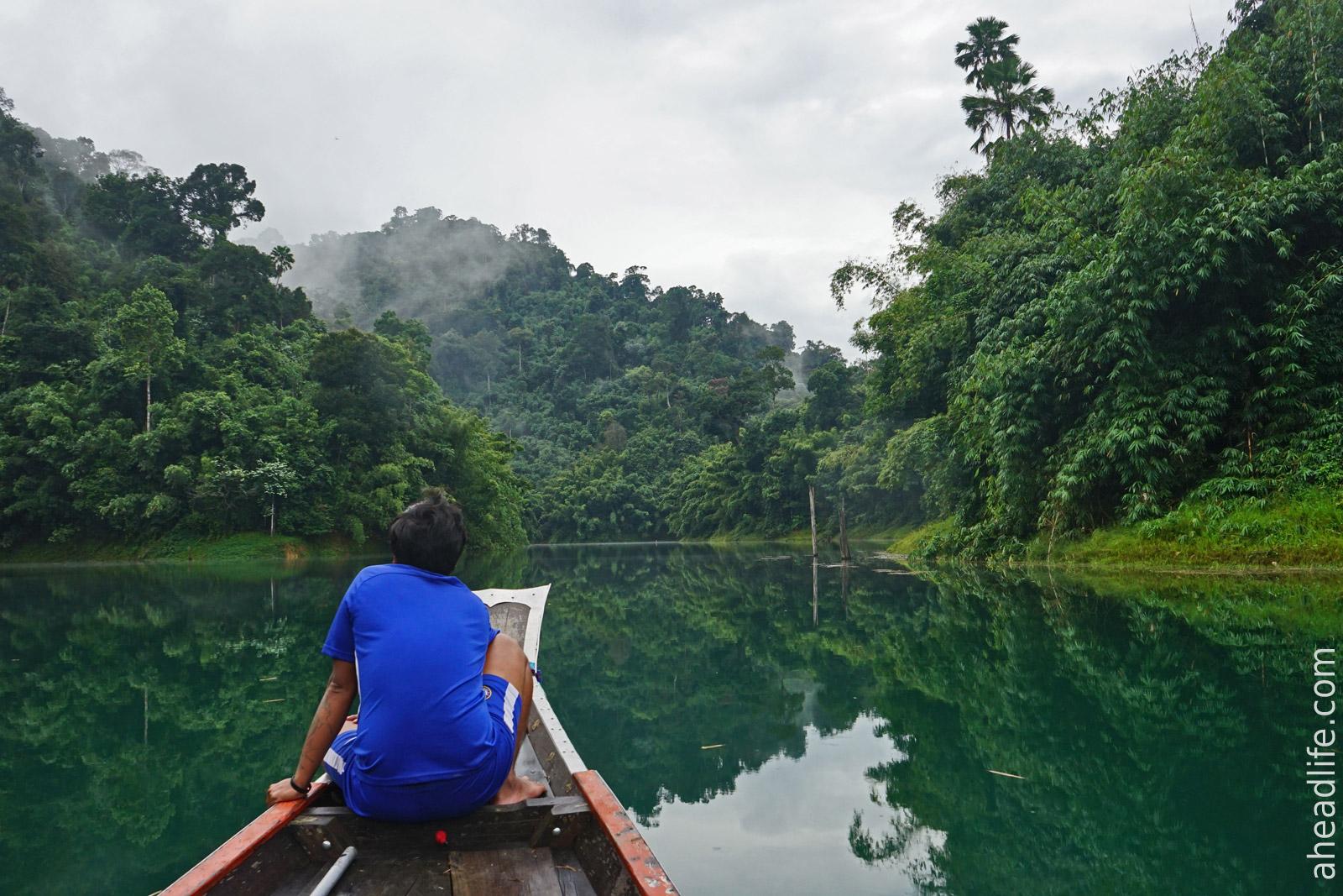 Сафари на озере в Кхао Сок