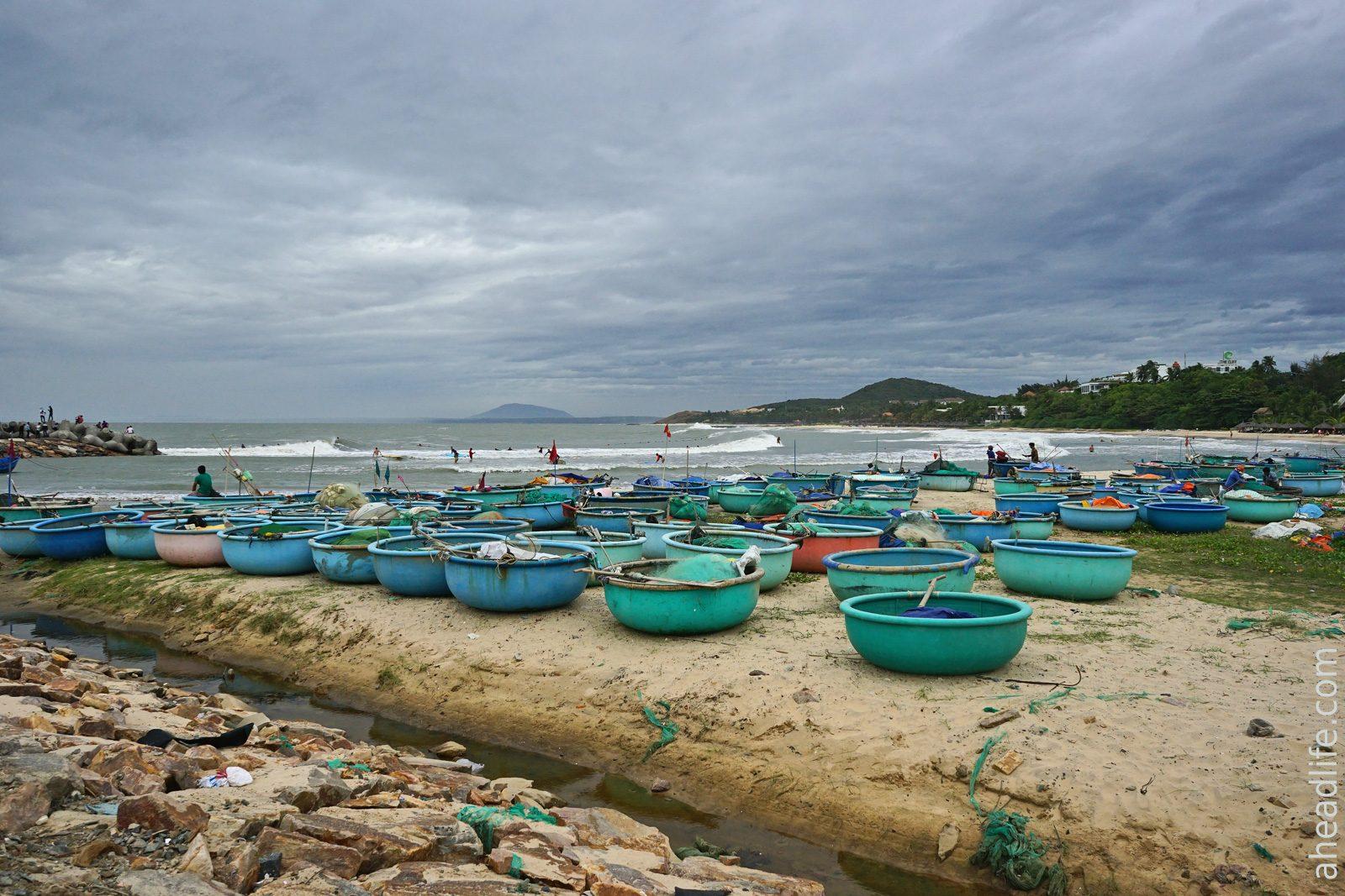Вьетнамские лодки Тхунг Чай