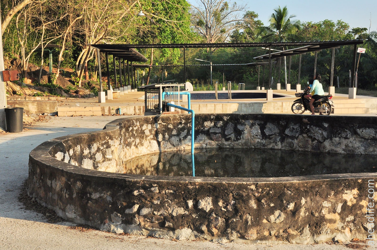 Ancient Chaiya Hot Spring