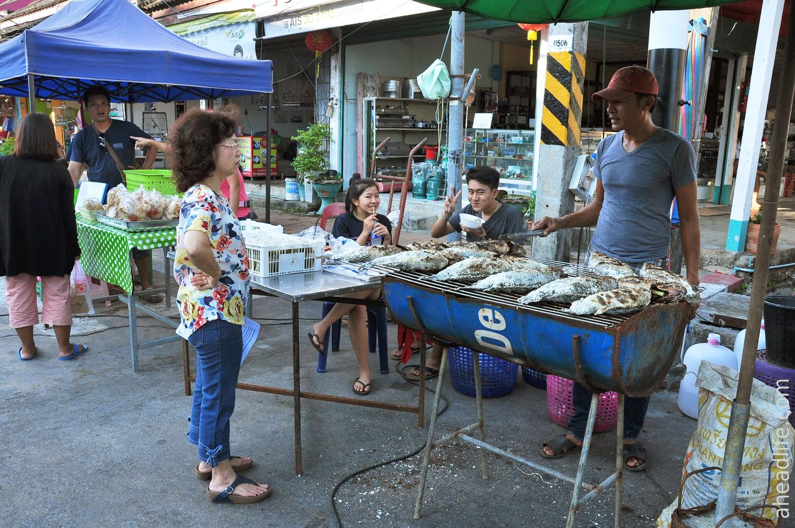 Рынок в Кханоме
