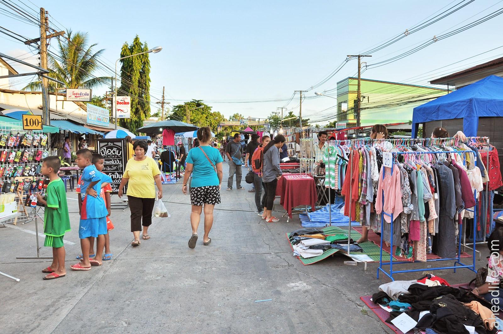 Market in Khanom