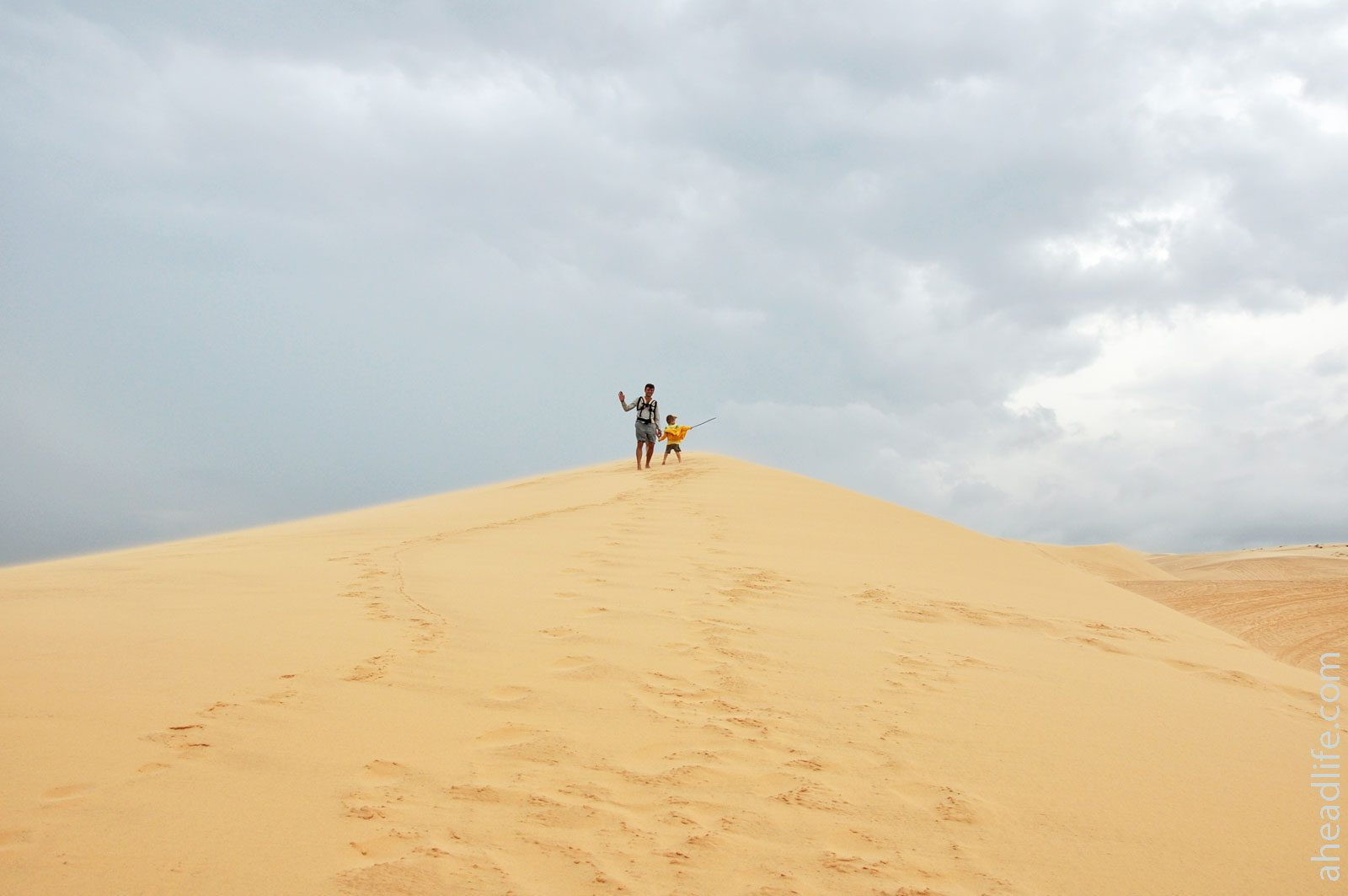 White sands Mui Ne