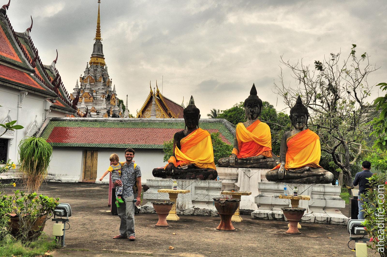 Будды Wat Phra Borommathat