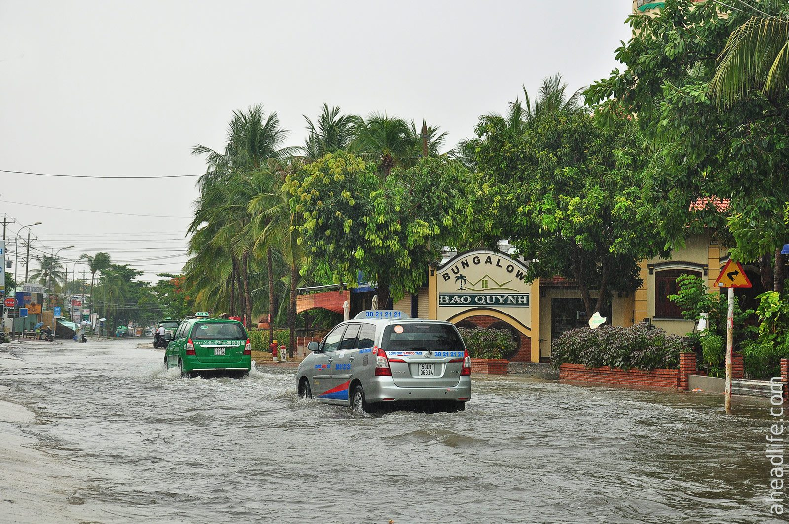 rains in Mui Ne